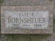 Profile photo:  Irene Faye <I>Rolan</I> Bornsheuer
