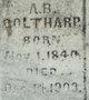 Profile photo:  A. B. Coltharp