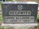 John Allison Beckwith, Jr