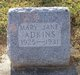Mary Jane Adkins