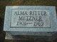 Profile photo:  Alma Ritter Metzner