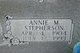 Profile photo:  Annie Mae <I>Stepherson</I> Adamson