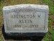 Arlington W Klein