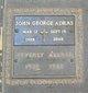 Profile photo:  John George Adras