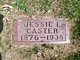 Profile photo:  Jessie L. Caster