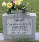 Carmen Naomi <I>Ratcliff</I> Doucette