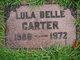 Lula Belle Carter
