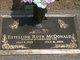 Estelline Ruth <I>Vick</I> McDonald