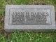 John H Barnes