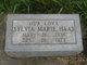 Sylvia Marie <I>DeWald</I> Haas