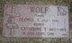 George S Wolf