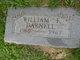 William F Darnell