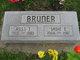Sadie E <I>Jones</I> Bruner