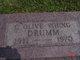 Carrie Olive <I>Baughman</I> Drumm