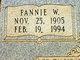 Fannie Elizabeth <I>Webb</I> Boykin
