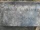 Minnie Lee Abshire