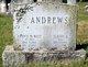 Profile photo:  Fannie W. <I>West</I> Andrews