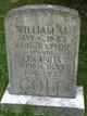 William M Cole