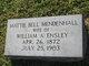 Mattie Bell <I>Mendenhall</I> Ensley