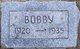 Profile photo:  Bobby Adamson