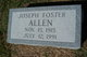 Joseph Foster Allen
