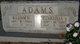 Clarrissa Bell <I>Carrington</I> Adams