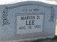 Marvin D. Lee