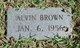 Profile photo:  Alvin Brown