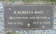 Helen Roberta <I>Goode</I> Mass
