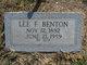 Lee Francis Benton
