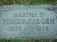 Profile photo:  Martha R Herdejurgen