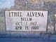 Profile photo:  Ethel Alvena <I>Bellm</I> Bandy