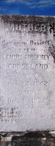 Catherine <I>Bassett</I> Crossland