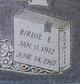 Profile photo:  Berdie E <I>Bone</I> Allen