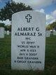 Profile photo:  Albert G Almaraz, Sr