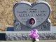 Profile photo:  Aleta I. Amos