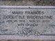 Mary Frances <I>Doolittle</I> Bridenstine
