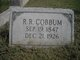 Profile photo:  R. R. Cobbum