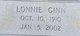 Lonnie Ginn