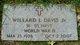 Willard L Davis, Jr