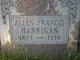 Profile photo:  Allen Francis Hannegan