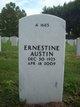 Ernestine <I>Davis</I> Austin