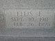 Ellis E. Bowman