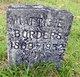 """Martha E """"Mattie"""" Borders"""