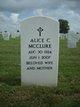 Profile photo:  Alice Charlotte <I>Anderson</I> McClure