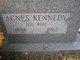 Profile photo:  Agnes <I>Kennedy</I> Loftus