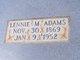 Lennie Mae <I>Couch</I> Adams