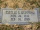 Profile photo:  Estelle L Denning