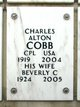 Beverly C Cobb