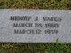 Henry Joley Yates